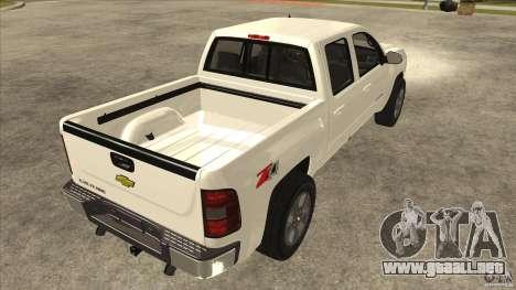 Chevrolet Cheyenne 2011 para la visión correcta GTA San Andreas