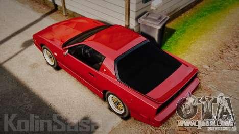 Pontiac Firebird Trans Am GTA 1987 [EPM] para GTA 4 visión correcta