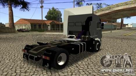 KAMAZ 5460 3420 Euro Turbo para la visión correcta GTA San Andreas