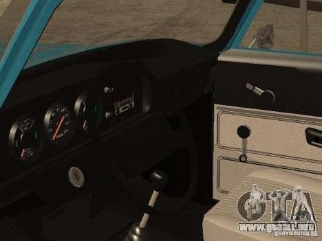 AZLK 2140 v2 para GTA San Andreas vista hacia atrás