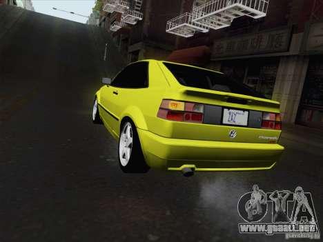 Volkswagen Corrado 1995 para GTA San Andreas left