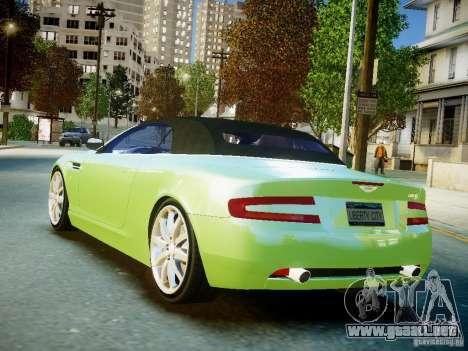 Aston Martin DB9 Volante v2.0 para GTA 4 left