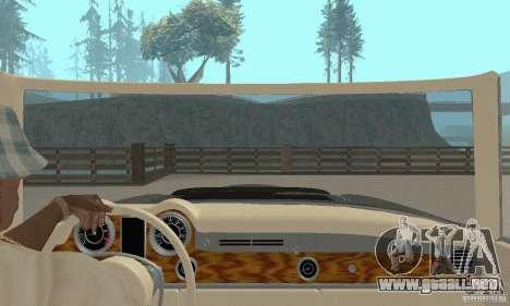 Mercedes-Benz 280SL (Matt) para visión interna GTA San Andreas