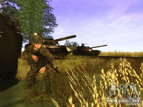 Piel de un soldado ruso para GTA San Andreas