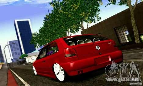Volkswagen GOL G2 Tuning para GTA San Andreas left