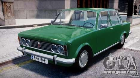 Fiat 125p Polski 1970 para GTA 4 left