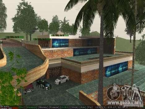 Nueva Villa Med-Dogg para GTA San Andreas tercera pantalla