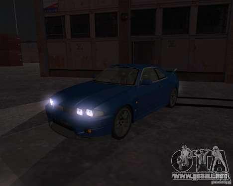 Nissan Skyline GT-R R-33 para visión interna GTA San Andreas