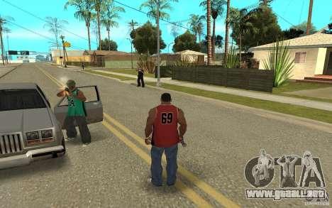 Grove Street Skin Pack para GTA San Andreas novena de pantalla