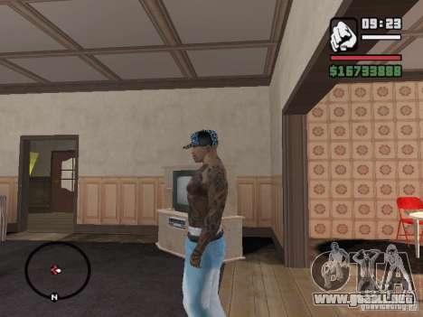 Ami James & Chris Nunez Tattoo para GTA San Andreas tercera pantalla