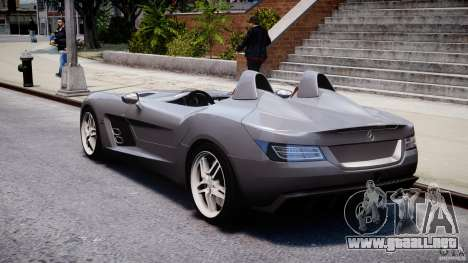 Mercedes-Benz SLR McLaren Stirling Moss [EPM] para GTA 4 vista lateral