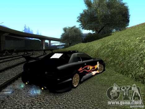 Rèjzora de vinilo de Most Wanted para GTA San Andreas left