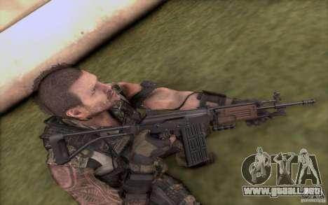 IMI GALIL AR para GTA San Andreas tercera pantalla