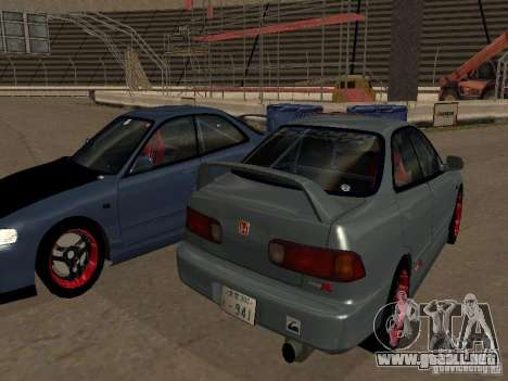 Honda Integra TypeR para GTA San Andreas left