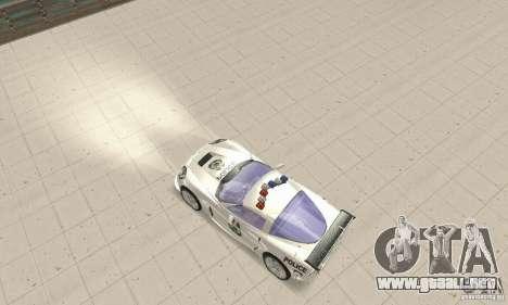 Chevrolet Corvette C6 sargento de policía Cruz N para la visión correcta GTA San Andreas