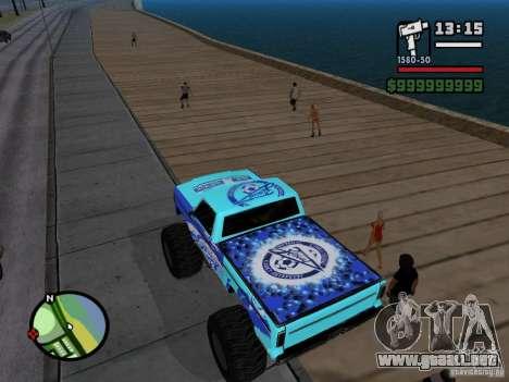 Un monstruo en el estilo del FC ZENIT para GTA San Andreas vista posterior izquierda