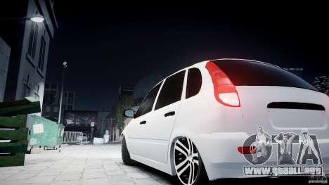 Lada Kalina Tuning para GTA 4 visión correcta