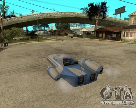 X34 Landspeeder para GTA San Andreas left