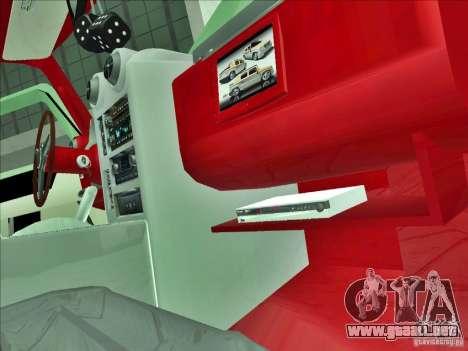 Hummer H2 Phantom para vista lateral GTA San Andreas