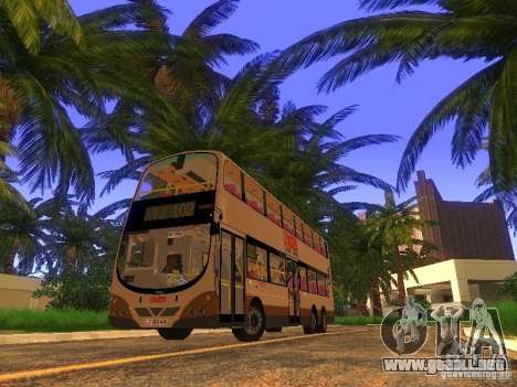 Volvo B10TL from Hong Kong para GTA San Andreas left