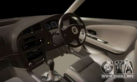 Mitsubishi Lancer Evolution 6 para vista lateral GTA San Andreas
