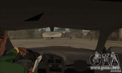 Toyota Celica GT-Four para visión interna GTA San Andreas