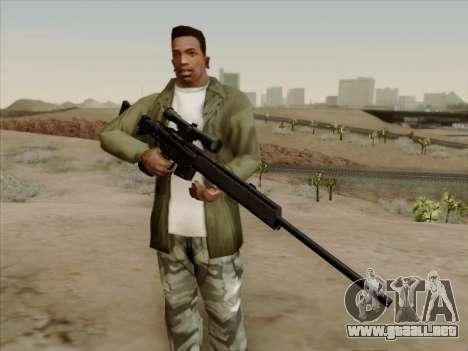 HK PSG 1 para GTA San Andreas segunda pantalla