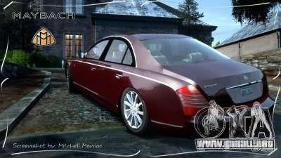 Maybach 57S para GTA 4 left