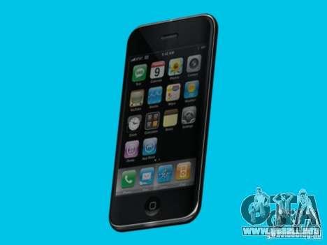 Iphone para GTA San Andreas segunda pantalla