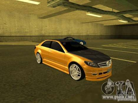 GTAIV Schafter Modded para GTA San Andreas left
