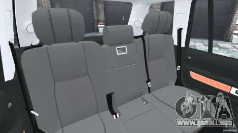 Range Rover Supercharged 2008 para GTA 4 vista lateral