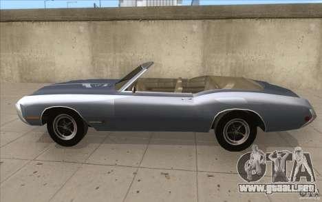 Buick Riviera GS 1969 para GTA San Andreas left