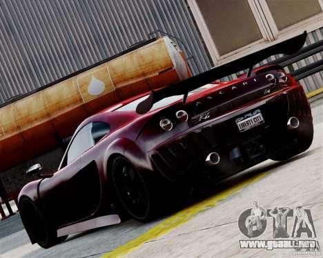 Ascari A10 2007 v2.0 para GTA 4 visión correcta