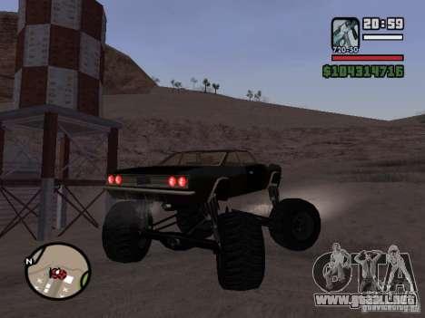 Monster Tampa para GTA San Andreas left