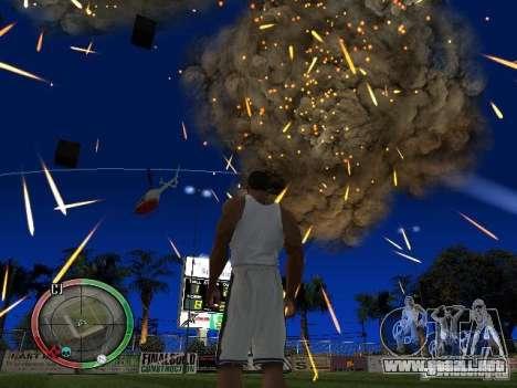 RAIN OF BOXES para GTA San Andreas tercera pantalla