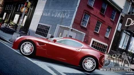 Alfa Romeo 8C Competizione para GTA 4 left