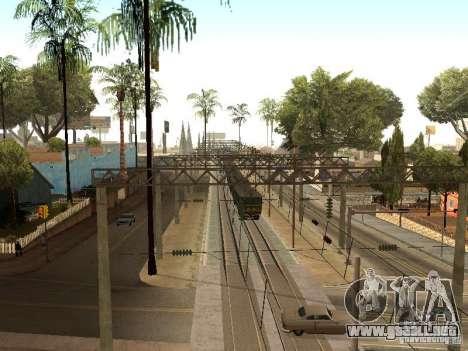 Póngase en contacto con la red 2 para GTA San Andreas sexta pantalla