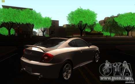 Hyundai Tiburon V6 Coupe 2003 para la visión correcta GTA San Andreas