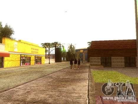 Nuevo Enb series 2011 para GTA San Andreas sucesivamente de pantalla