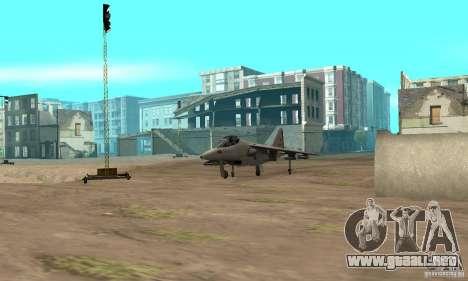 Guerra del aire para GTA San Andreas séptima pantalla