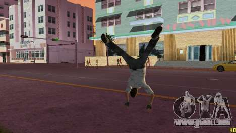 Cleo Parkour v4 para GTA Vice City