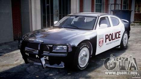 Dodge Charger SRT8 Police Cruiser para GTA 4 left