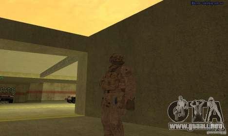 Piel marino para GTA San Andreas segunda pantalla