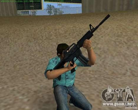 M4 de Counter Strike Source para GTA Vice City tercera pantalla