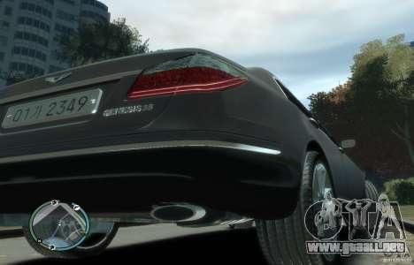 Hyundai Genesis Sedan Elite para GTA 4 visión correcta