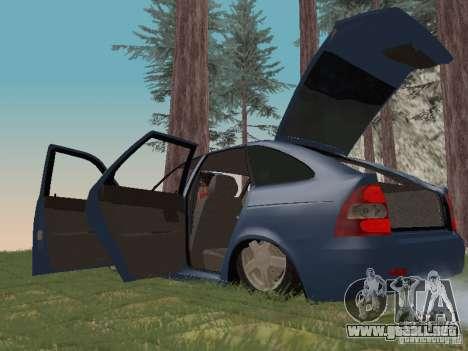 LADA 2170 Hatchback para visión interna GTA San Andreas