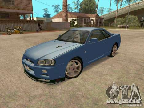 Nissan Skyline GT-R BNR34 Tunable para GTA San Andreas left