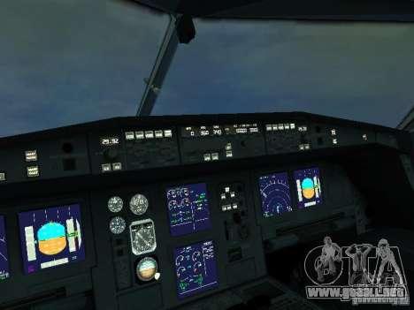 Airbus A340-300 Air France para visión interna GTA San Andreas