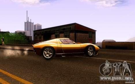 Lamborghini Miura Concept para la visión correcta GTA San Andreas