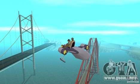 Flying Fish para visión interna GTA San Andreas